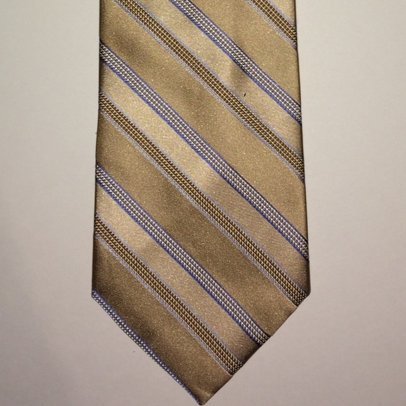 MICHAEL Michael Kors Other - Michael Kors Tie | Cream & Gold Stripes